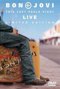 Cover Bon Jovi - This Left Feels Right - Live [DVD]